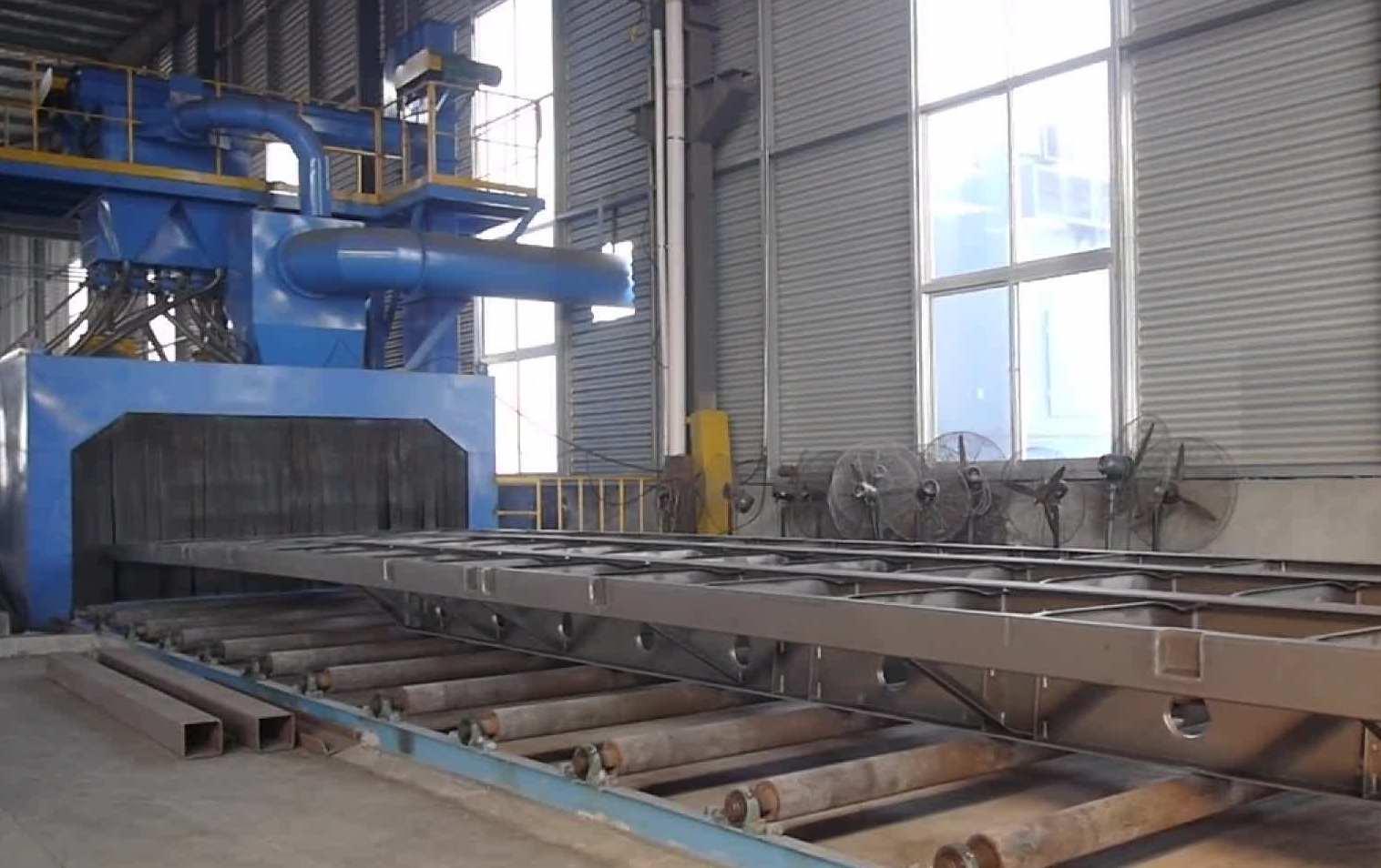 鋼結構強化拋丸機