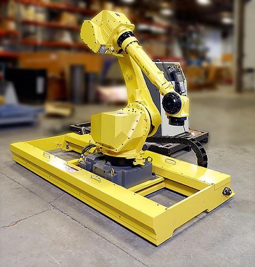 超声波喷丸机器人